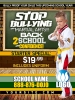 Anti Bullying Ad Cards | STOP BULLYING Martial Arts Cards BACK TO SCHOOL